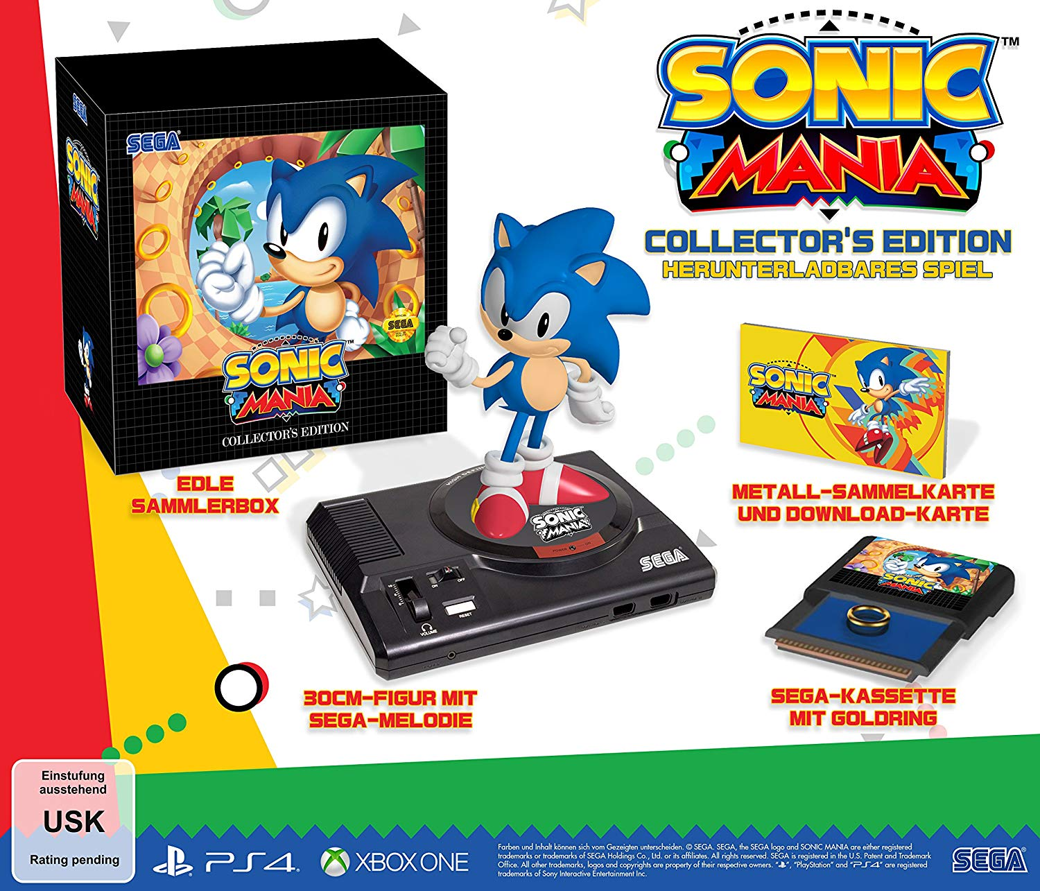 Sonic Mania Collectors Edition - PS4 - DE