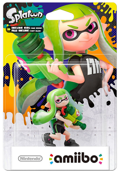 Splatoon Inkling Girl Green Amiibo - Video Games by Nintendo The Chelsea Gamer