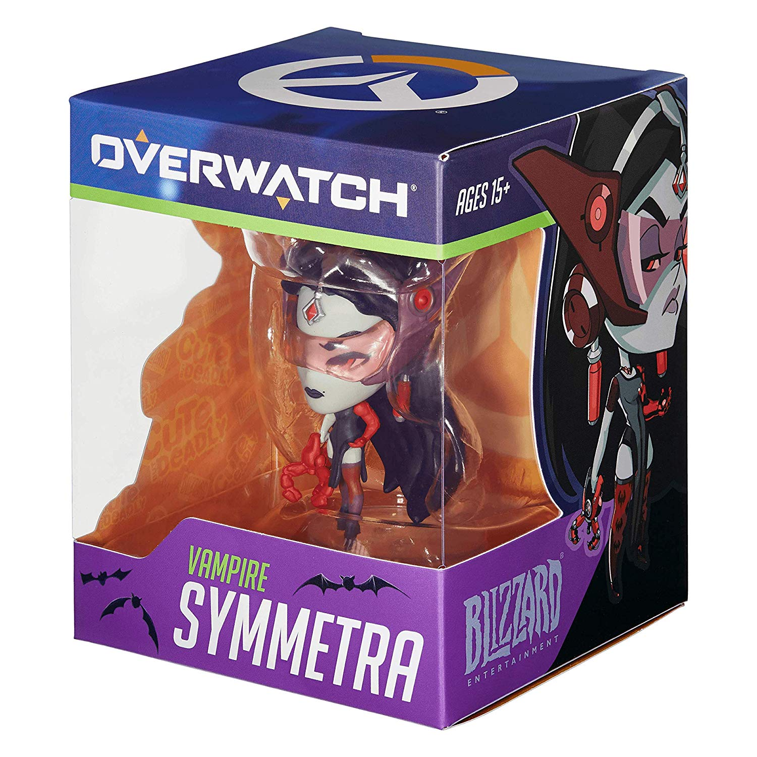 Official Blizzard Overwatch Cute But Deadly Vampire Symmetra