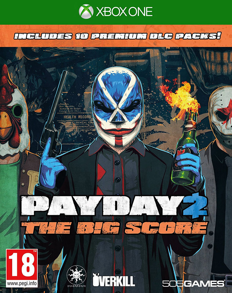 Payday 2 The Big Score (Xbox One) - Video Games by 505 Games The Chelsea Gamer
