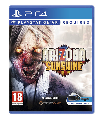 Arizona Sunshine - PlayStation VR - Video Games by Sony The Chelsea Gamer