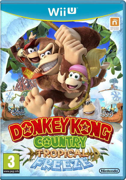 Donkey Kong Country: Tropical Freeze (Nintendo Wii U) - Video Games by Nintendo The Chelsea Gamer
