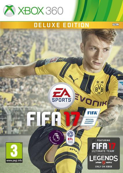 FIFA17 -Deluxe Edition for Xbox 360 - Video Games by Electronic Arts The Chelsea Gamer