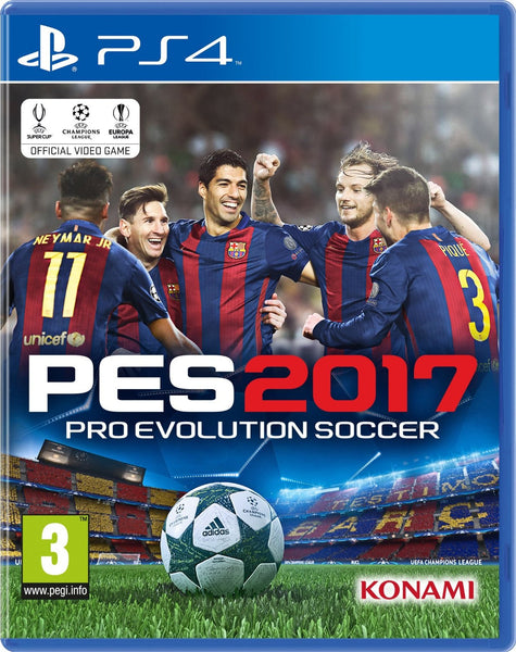 PES 2017 (PS4) - Video Games by Konami The Chelsea Gamer