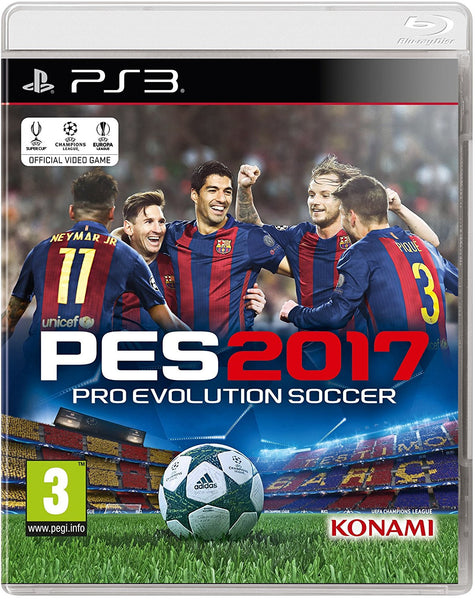 PES 2017 (PS3) - Video Games by Konami The Chelsea Gamer