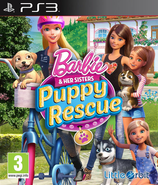 Barbie and Her Sisters Puppy Rescue PS3 - Video Games by Bandai Namco Entertainment The Chelsea Gamer