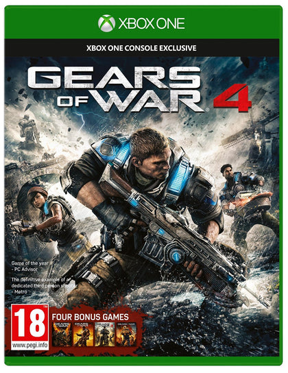 Gears of War 4 [Xbox One - Download Code] - Video Games by Microsoft The Chelsea Gamer