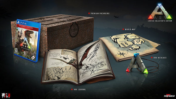 ARK Collectors Edition UK/Nordics PS4 - Video Games by Wildcard The Chelsea Gamer