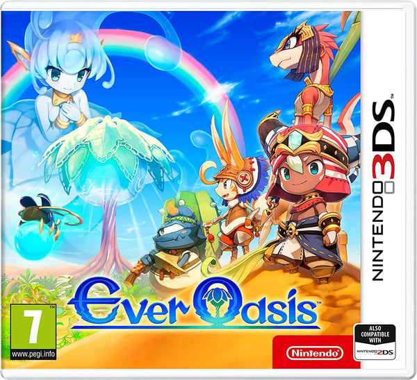 Ever Oasis - 3DS - Video Games by Nintendo The Chelsea Gamer