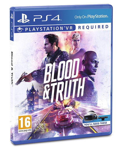 Blood & Truth - Video Games by Sony The Chelsea Gamer
