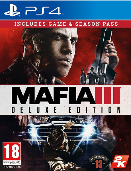 Mafia III Deluxe Edition - PS4 - Video Games by Take 2 The Chelsea Gamer
