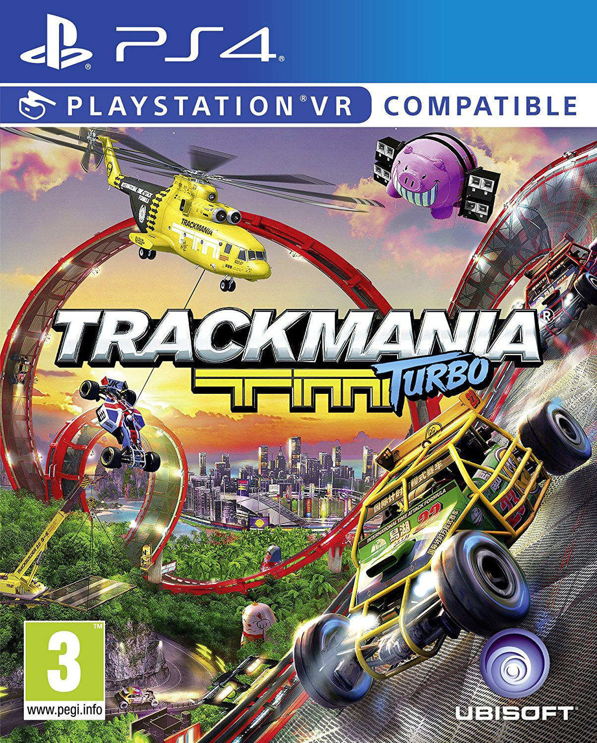 Trackmania Turbo (PS4) - PSVR Compatible