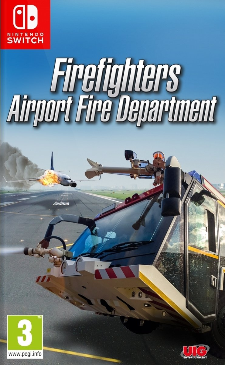 FIREFIGHTERS - Airport Fire Department - Nintendo Switch