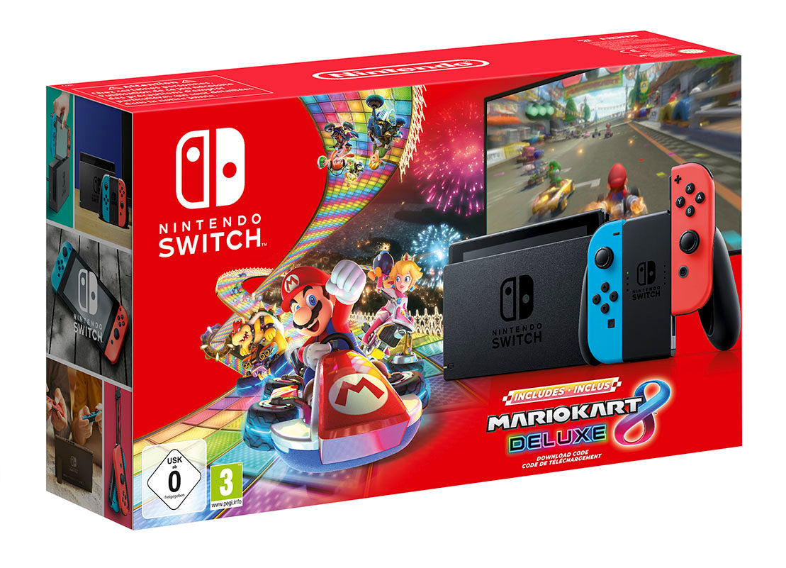 Nintendo Switch Hardware with Mario Kart 8 Deluxe