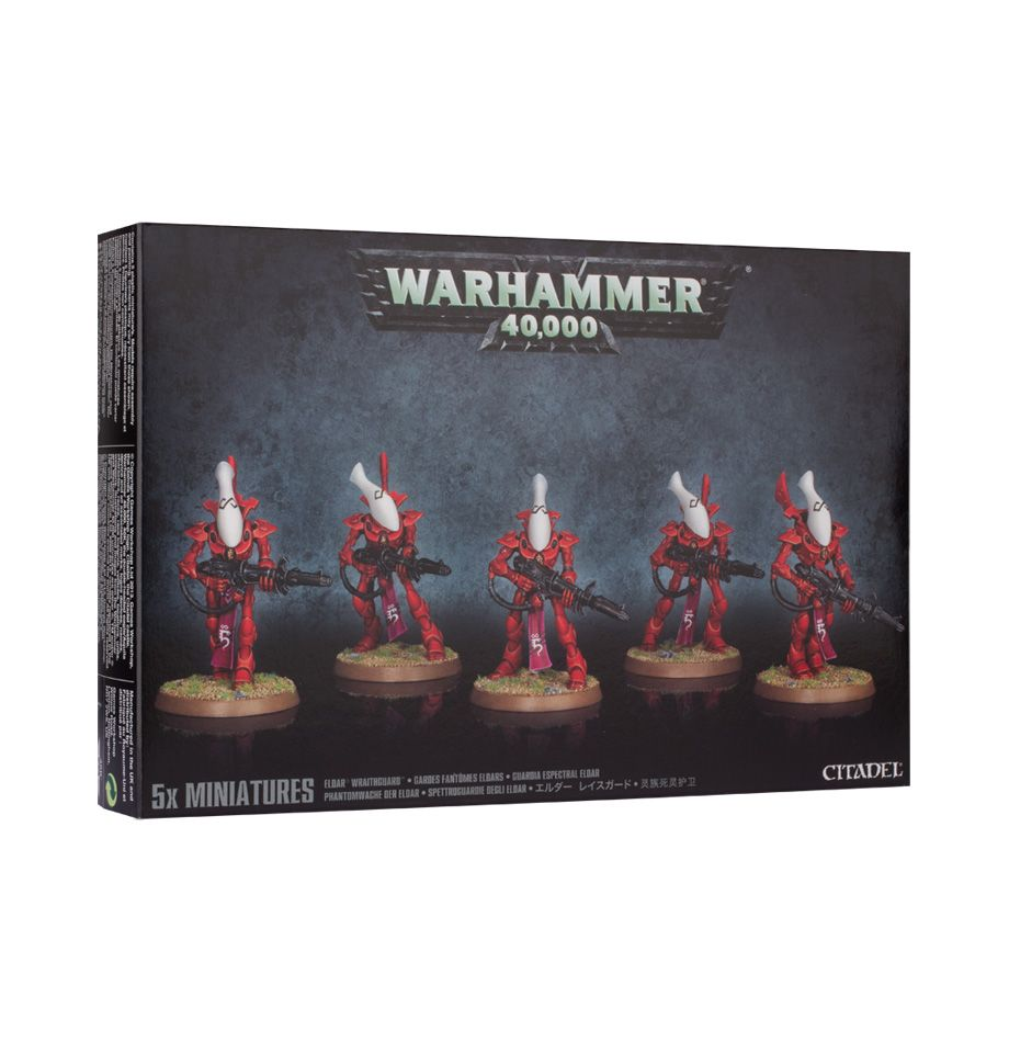 Craftworlds Wraithguard - Model Play by Games Workshop The Chelsea Gamer