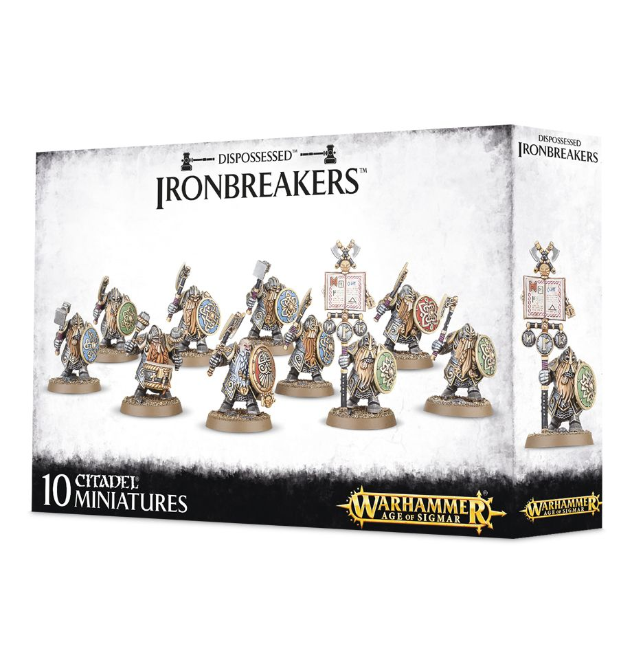 Dispossessed Ironbreakers - Model Play by Games Workshop The Chelsea Gamer