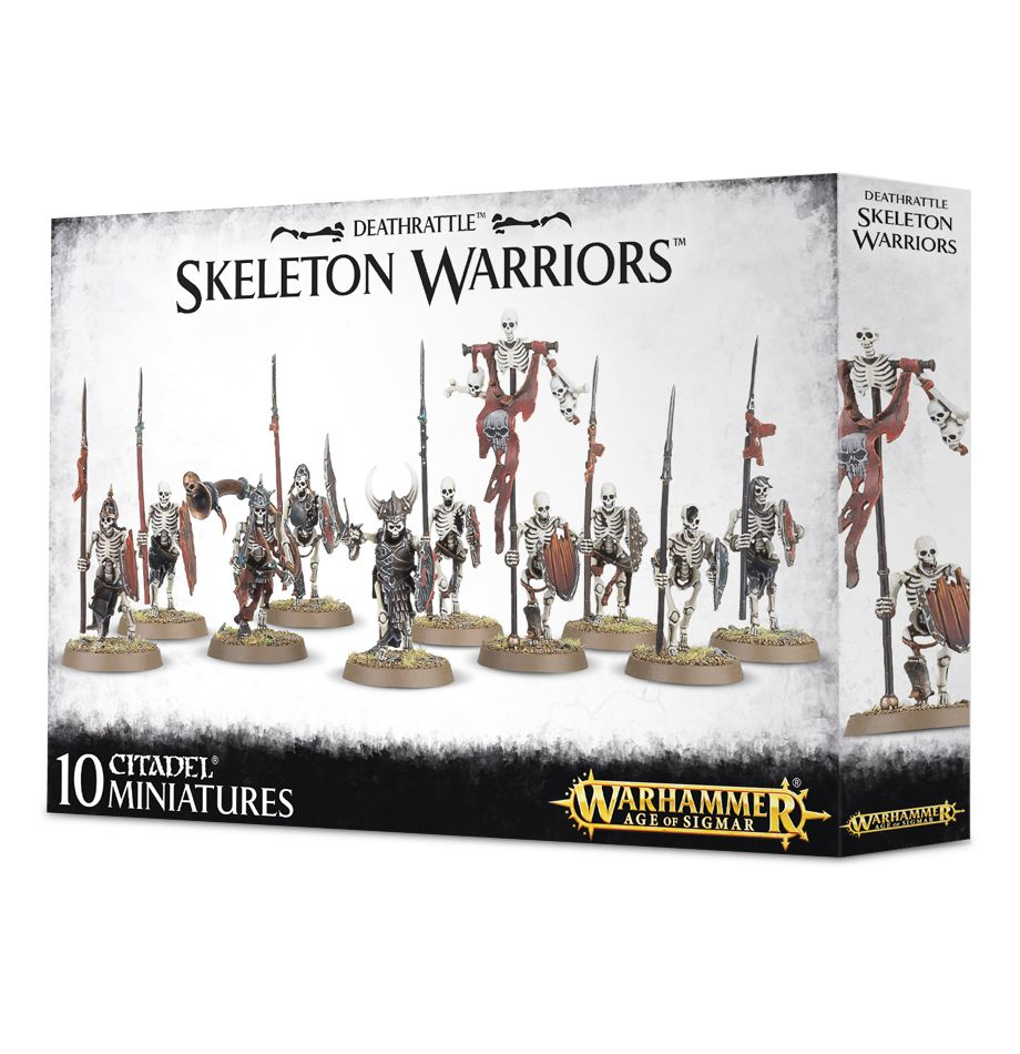 Deathrattle Skeleton Warriors - Model Play by Games Workshop The Chelsea Gamer
