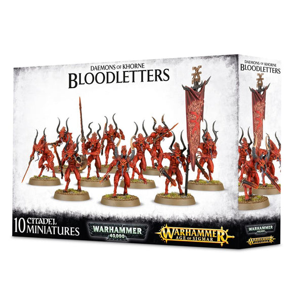 Daemons Of Khorne Bloodletters - Model Play by Games Workshop The Chelsea Gamer