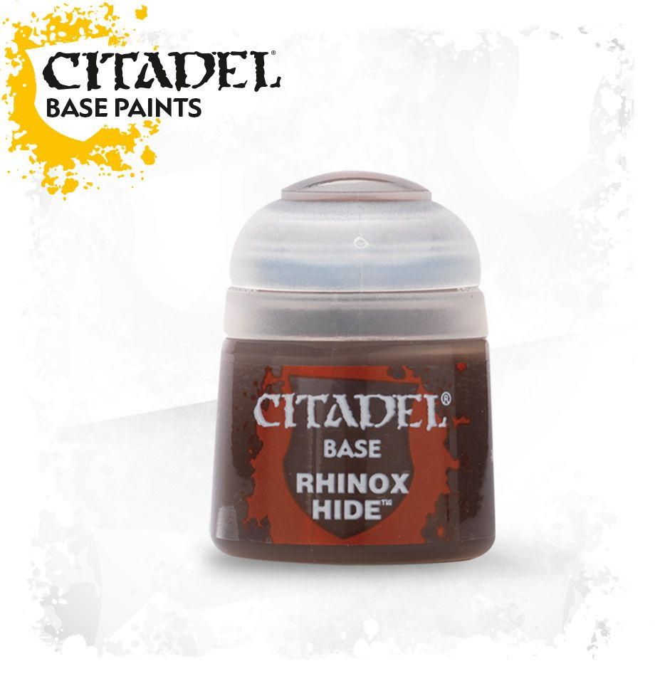 Citadel - Rhinox Hide - Base Paint - Model Play by Games Workshop The Chelsea Gamer