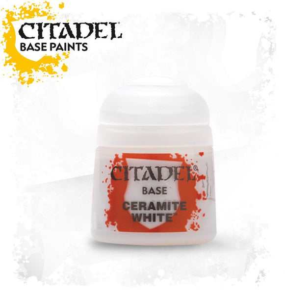 Citadel - Ceramic White - Base Paint - Model Play by Games Workshop The Chelsea Gamer