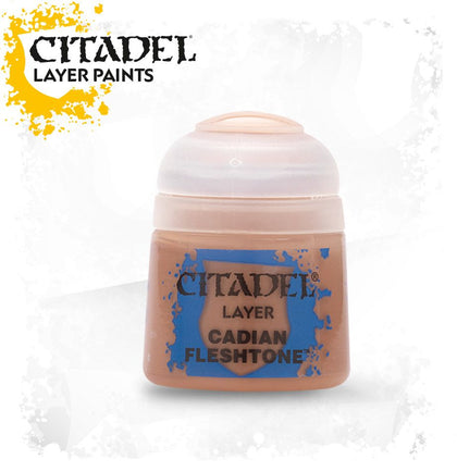 Citadel - Cadian Fleshtone - Layer Paint - Model Play by Games Workshop The Chelsea Gamer