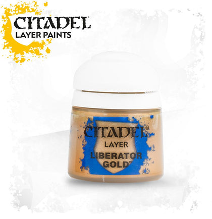 Citadel - Liberator Gold - Layer Paint - Model Play by Games Workshop The Chelsea Gamer