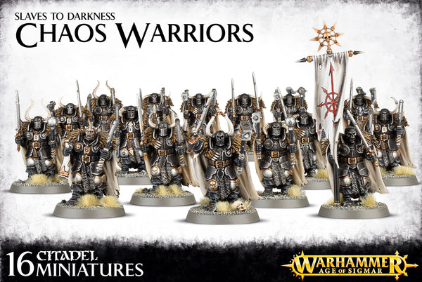 Chaos Warriors Regiment - Model Play by Games Workshop The Chelsea Gamer