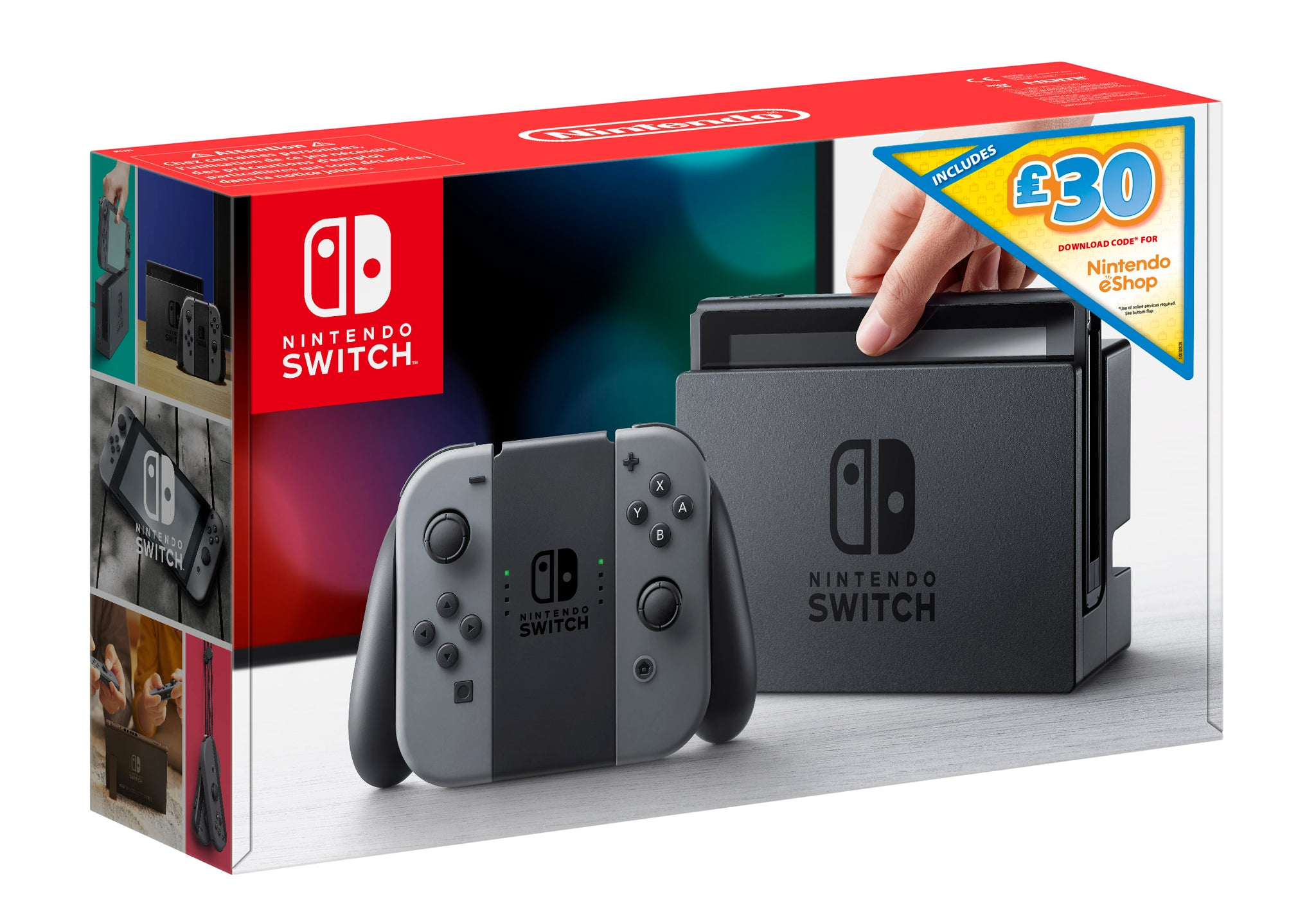 Limited Edition Nintendo Switch Bundle with £30 eShop Credit