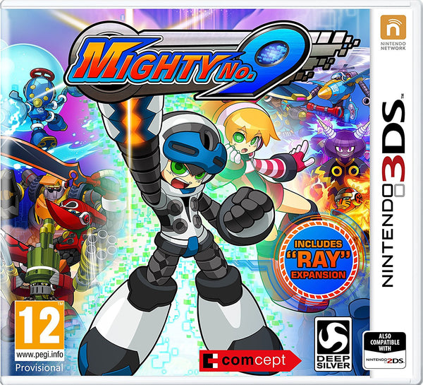 Mighty No 9 - 3DS - Video Games by Deep Silver UK The Chelsea Gamer