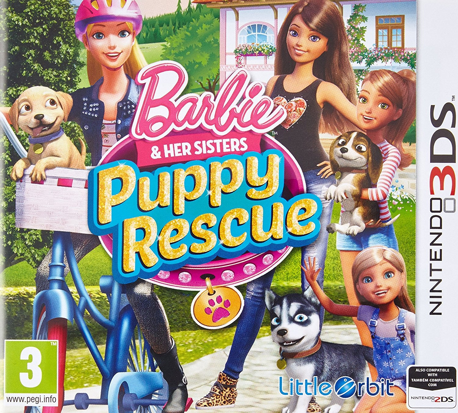 Barbie and Her Sisters Puppy Rescue (Nintendo 3DS)