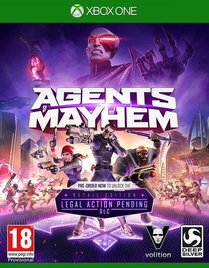 Agents of Mayhem - Xbox One - Video Games by Deep Silver UK The Chelsea Gamer