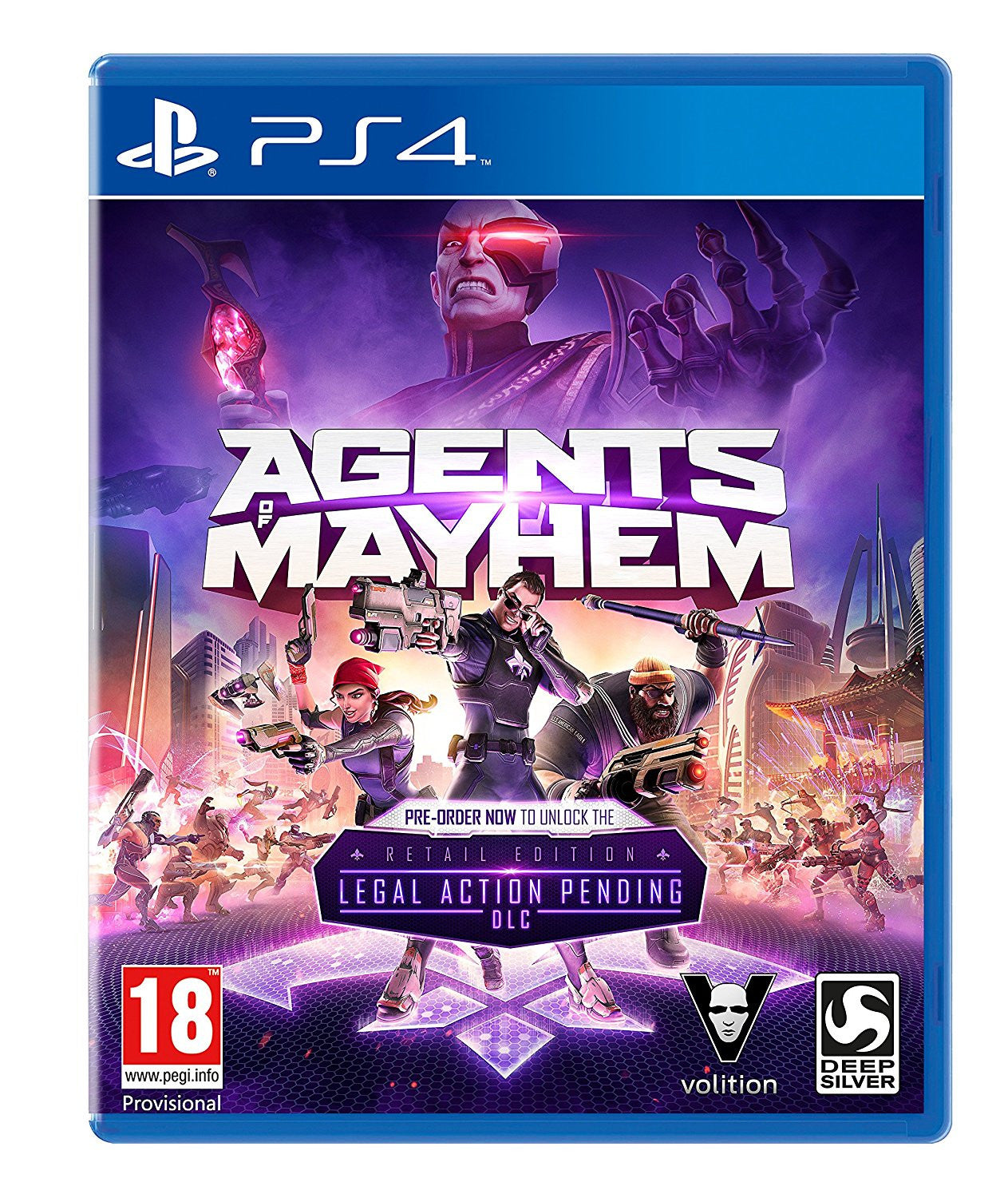 Agents of Mayhem- PS4 - Video Games by Deep Silver UK The Chelsea Gamer