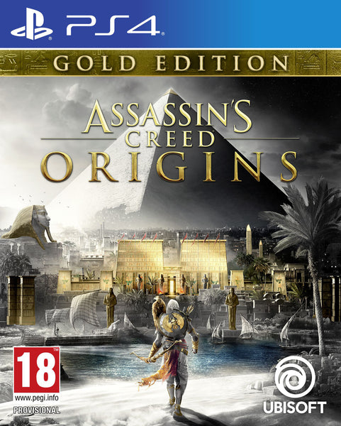 Assassin's Creed® Origins - Gold Edition - PS4 - Video Games by UBI Soft The Chelsea Gamer