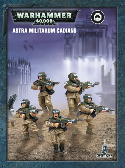 Astra Militarum Cadian Infantry Squad - Model Play by Games Workshop The Chelsea Gamer
