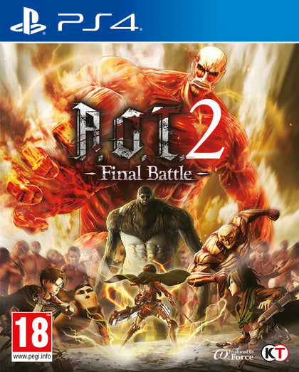 A.O.T.2 Final Battle - Video Games by Koei Tecmo Europe The Chelsea Gamer