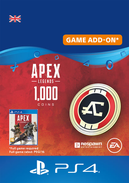 Apex Legends Coins - Game Add On - Video Games by Sony The Chelsea Gamer