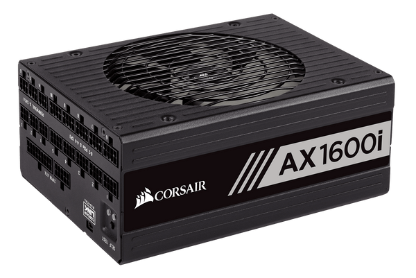 Corsair AX1600i Digital ATX Power Supply — 1600 Watt Fully-Modular PSU - Core Components by Corsair The Chelsea Gamer