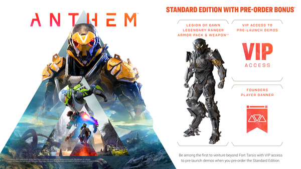 Anthem - Standard Edition - Video Games by Electronic Arts The Chelsea Gamer