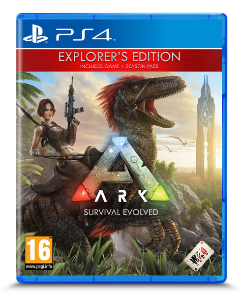 ARK: Survival Evolved - Explorers Edition - PS4 - Video Games by Wildcard The Chelsea Gamer