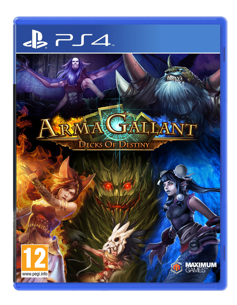 ArmaGallant - Deck of Destiny - PS4 - Video Games by Maximum Games Ltd (UK Stock Account) The Chelsea Gamer