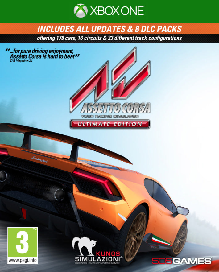 Assetto Corsa Ultimate Edition - Video Games by 505 Games The Chelsea Gamer