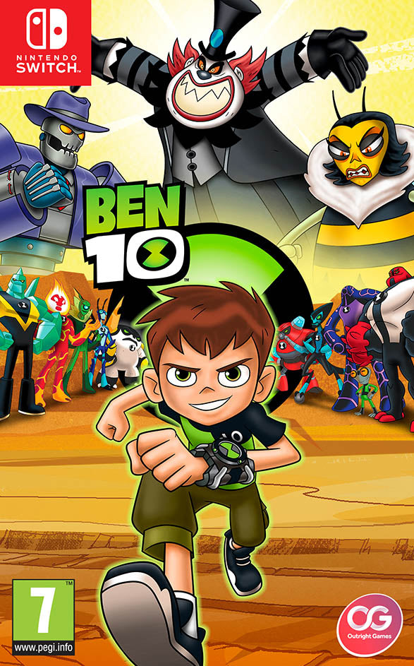 Ben 10 - Nintendo Switch - Video Games by Bandai Namco Entertainment The Chelsea Gamer