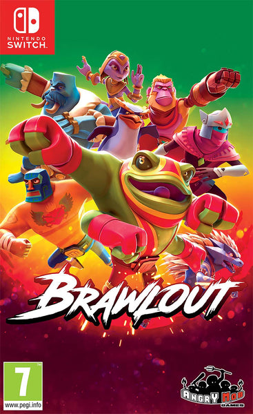 Brawlout - Nintendo Switch - Video Games by Merge Games The Chelsea Gamer