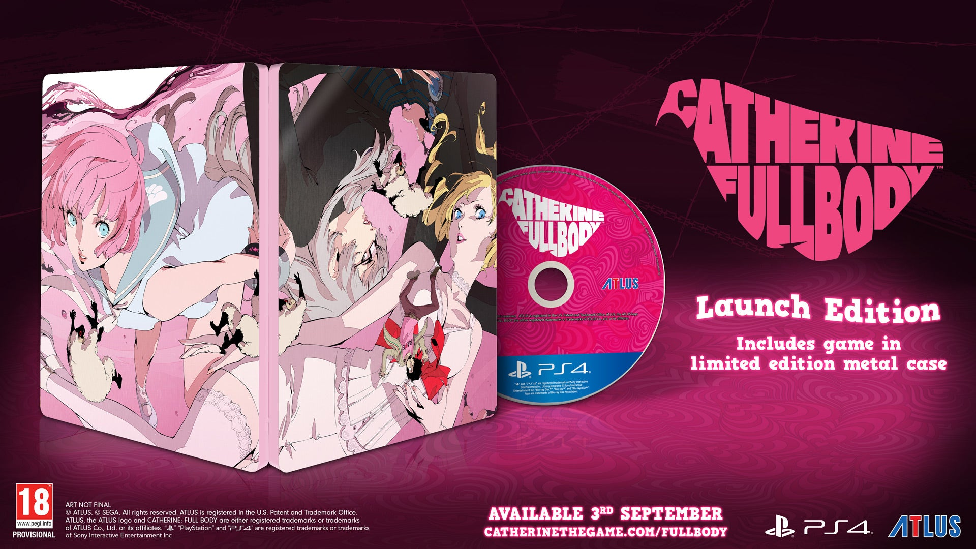 Catherine: Full Body - Video Games by Atlus The Chelsea Gamer