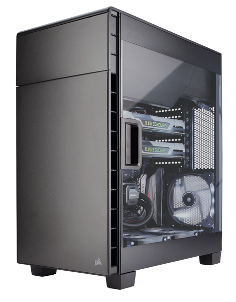 Corsair Carbide Series® Clear 600C Inverse ATX Full-Tower Case - Core Components by Corsair The Chelsea Gamer