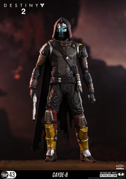 Destiny -  Cayde-6 Action Figure, 18cm - merchandise by MacFalane The Chelsea Gamer