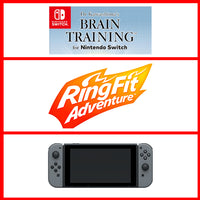 Nintendo Switch Player Pack - The Body and Mind Grey Pack