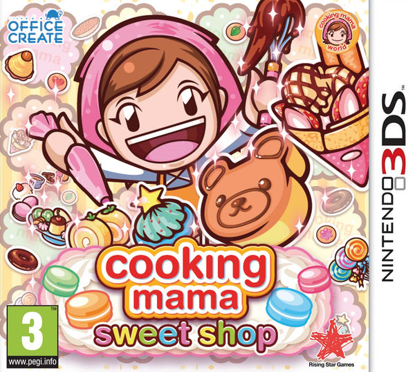 Cooking Mama: Sweet Shop - 3DS - Video Games by Nintendo The Chelsea Gamer