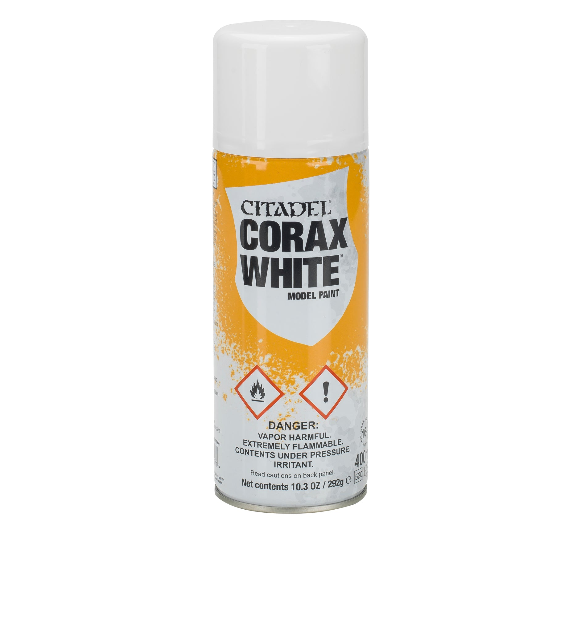 CITADEL: Corax White Spray - Model Play by Games Workshop The Chelsea Gamer