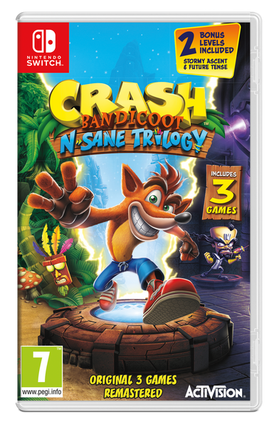 Crash Bandicoot™ N. Sane Trilogy - Nintendo Switch - Video Games by ACTIVISION The Chelsea Gamer
